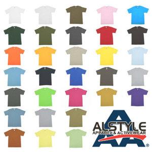 AAA/1301/1701/트리플에이/Alstyle/반팔무지티셔츠