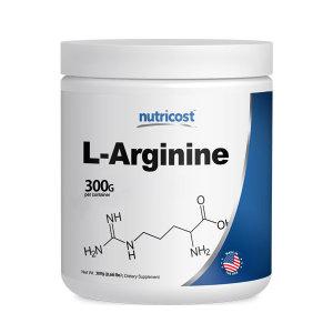 뉴트리코스트 대용량 아르기닌 Arginine 300g 100회분