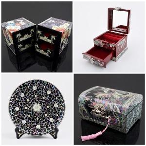 나전칠기고급보석함/자개보관함/전통기념품외국인선물