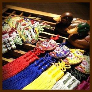 노리개/전통매듭/자수공예/한복소품/민속품/해외선물