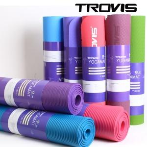 TROVIS 요가매트   운동매트NBR PVC 8/10/16mm