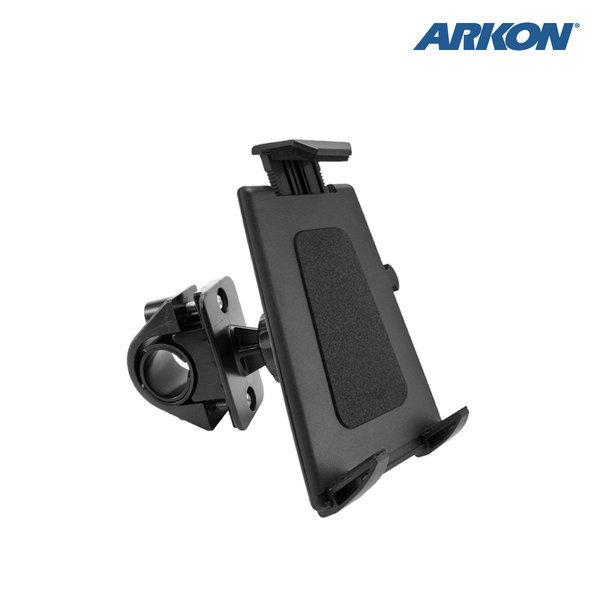 TABPB127 아콘 ARKON 푸쉬 버튼 다목적 핸들바 태블릿 거치대 - 직경 32mm 이하 핸들바
