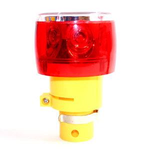 태양광 LED음향경광등 SWL-RF06A 불빛 음향 자동 변환