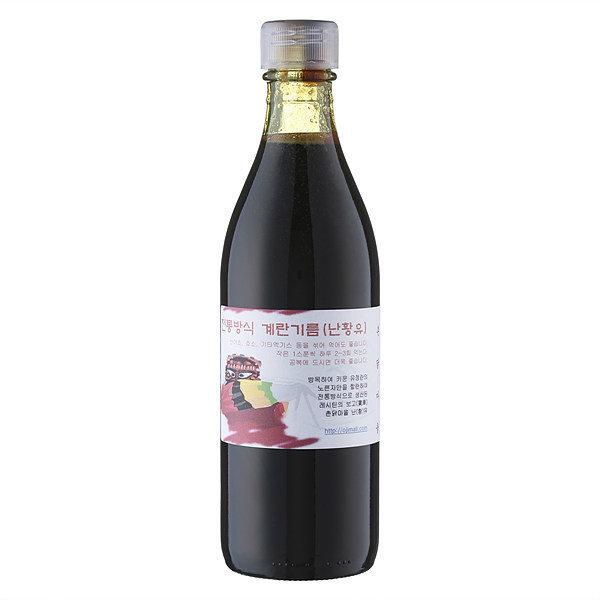 난유  난황유 전통방식 계란기름(난유) 180ml 1병