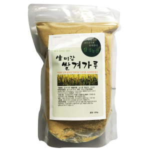 1.2kg 쌀겨 미강 600g x 2팩 국산 현미미강 볶은미강