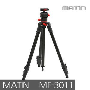 매틴 MF-3011 삼각대 3단 블랙/최대높이1m32cm/휴대간