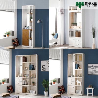[파란들가구] 파란들 지니 LED거울화장대 겸 책장 모음전_ch