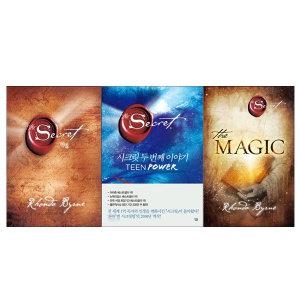 (추가카드할인) 살림 The Secret 시크릿+시크릿 두 번째 이야기+THE MAGIC 매직 전3권/DX0030