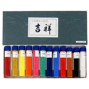 수간안료/동양화채색/길상분채/12색세트/서예용품