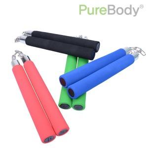 연습용 스폰지 스펀지 쌍절곤 24.5cm 색상선택4가지