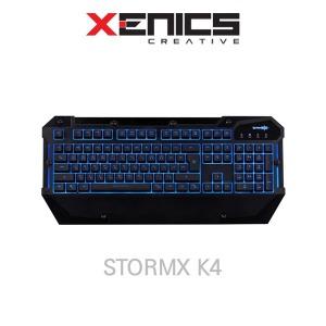 제닉스 STORMX K4 게이밍/게임용/플런저/키보드