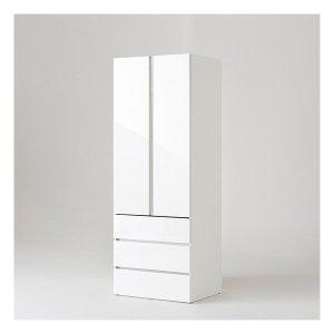 샘베딩 클로즈 옷장 80cm(높이216cm) 3단서랍형 6종