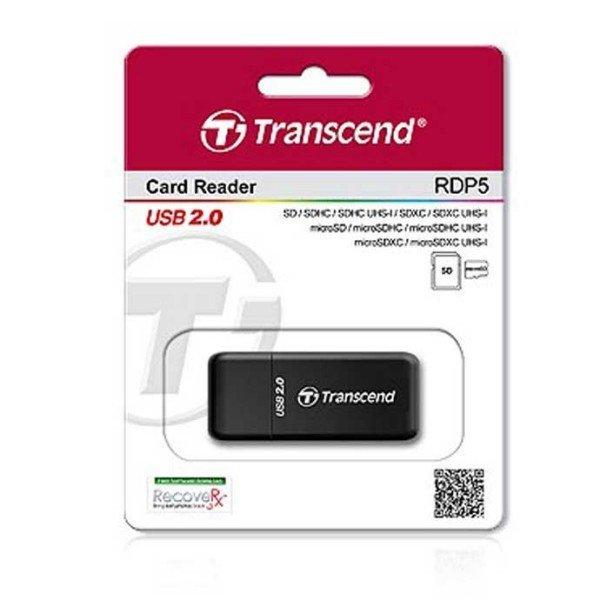 트랜센드 TS RDP5 // SD microSD 카드리더기