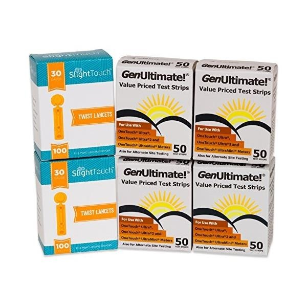 GenUltimate Blood Glucose Test Strips For Use w...