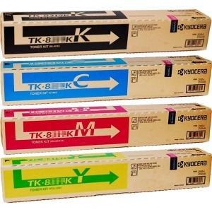 교세라 TK-899K 4색세트 정품토너 FS-C8020MFP/C8025