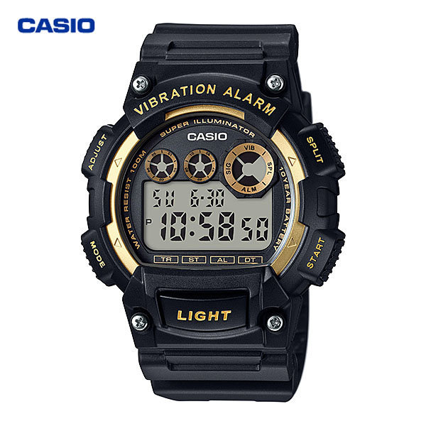 (정품)카시오시계 W-735H-1A2VDF /진동알람