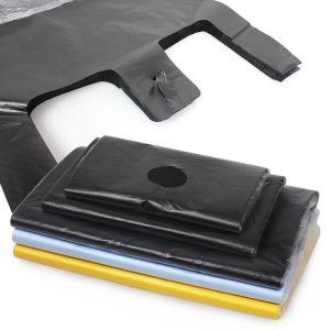 비닐봉투80/160매/마트 쓰레기 검정비닐 포장봉투