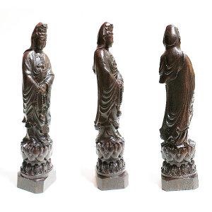 대형 원목조각 나무관음보살 관음상 장식용 불교조각