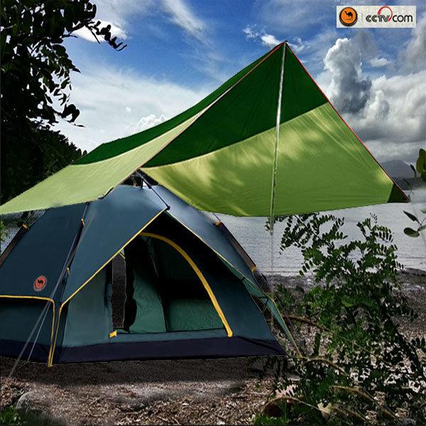 카멜 이너돔그늘막 원터치 텐트 침낭 타프 포함