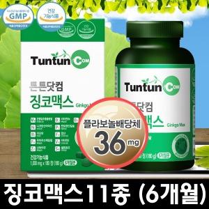 튼튼닷컴 징코 맥스 (6개월분) 정품 은행잎 추출물