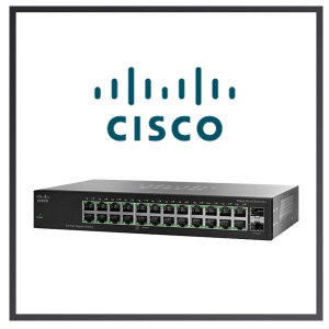 당일출고 CISCO SG95-24 스위칭허브/24포트/1000Mbp
