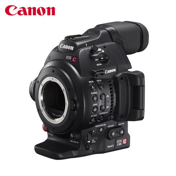 (주)아랑/캐논 정품/EOS C100 MARK II/시네마 캠코더