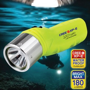 스쿠버다이빌 방수 라이트-LED 후레쉬 렌턴 잠수 용품