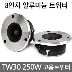 TW30 카오디오 250W 고음 트위터 차량용 자동차스피커