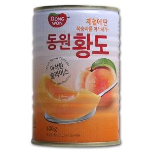 동원 황도 슬라이스400gx24캔