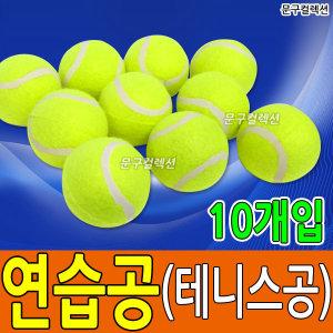 테니스공/연습공/10개입/연습용공/공놀이/의자발싸개