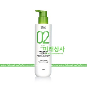 아모스 퓨어 스마트 샴푸 500g/비듬케어/정품