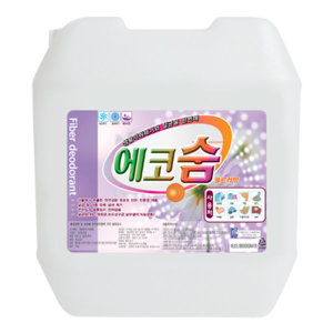 섬유탈취제에코숨1875L/방향제/섬유탈취제