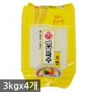 오뚜기 옛날국수 소면 3kgX4개(1박스)/잔치국수/사리