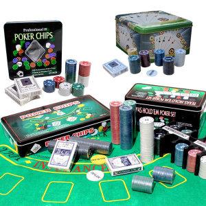 포커칩세트 100/120/200/300 카지노숫자칩 게임칩