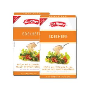 독일직수입Tartex Dr.Ritter고급맥주효모 2개SET상품