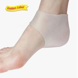 뒤꿈치 실리콘 보호패드/각질제거 보습 보호대 발