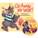 노부영 세이펜 Go Away Mr Wolf (PB+CD)