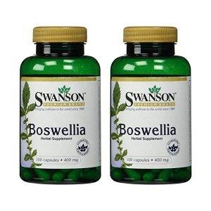 Swanson Premium Boswellia 400 mg - 2 Bottles ea...
