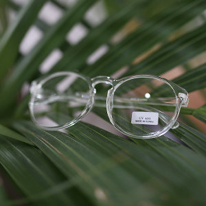 데일리 투명 뿔테/투명안경/알큰뿔테/안경테