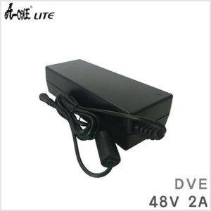 DVE DSA-96PFA-48/ 48V 2A/ 48V2A CCTV 중고 어댑터