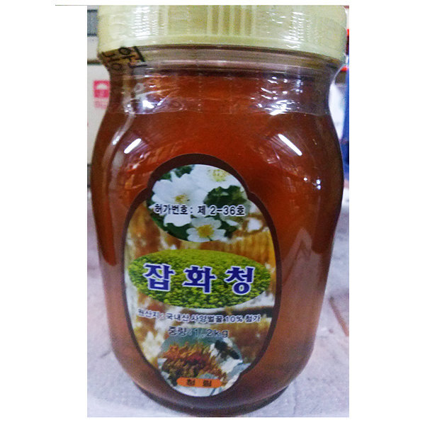 잡화꿀(청림 1.2K)/한봉꿀/꿀모과차/꿀단지/꿀땅콩/꿀