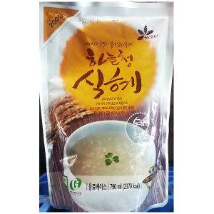 식혜농축액(하늘청 790ml)X10/식혜72/식혜발효/식혜30