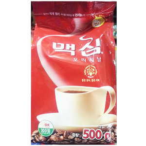 맥심커피(오리지날 500g)/식자재용/커피가루/식당/식