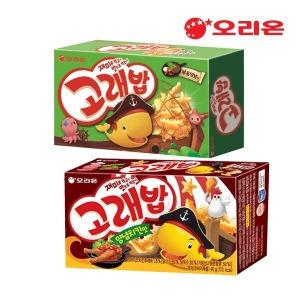 (neo) 오리온 고래밥 볶음양념/양념치킨 40g /과자