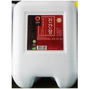 햇살 양조진간장(대상 15L)/송표간장/샘표간장/미니간