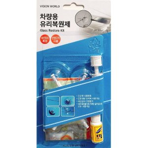 미국특허 자동차유리 복원 돌빵 기스 용접 깨진유리금