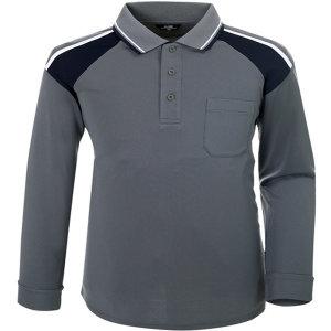 긴팔티셔츠 2톤배색 작업티셔츠 회사단체복