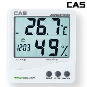 카스 디지털 온습도계 TE-201 외부온도측정 프리미엄