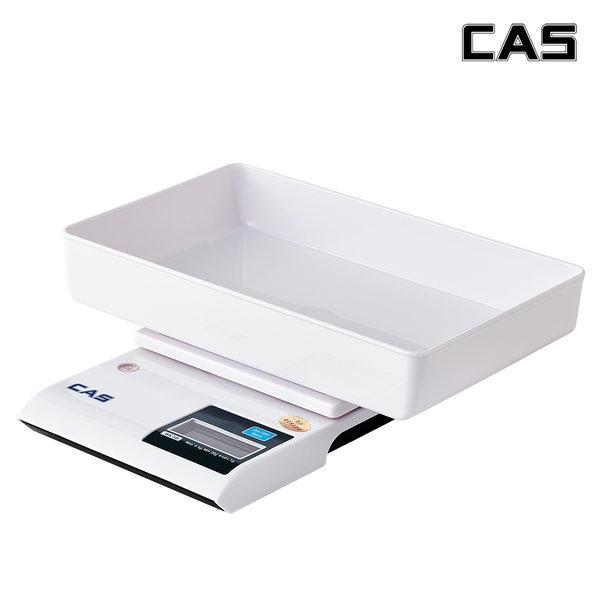 카스(CAS) 3kg까지 주방저울 전자저울 WK-1D 용기포함