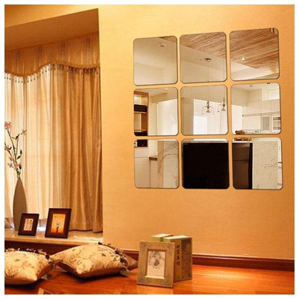 6P/Set_인테리어 안전거울/아크릴거울/붙이는거울